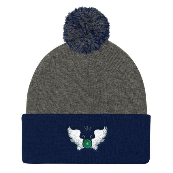 NikaHaru_Beanies_Haru_mockup_Front_Dark-Heather-Grey-Navy